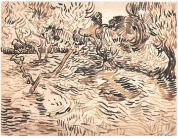 Vincent Van Gogh Saint-Rémy Olives